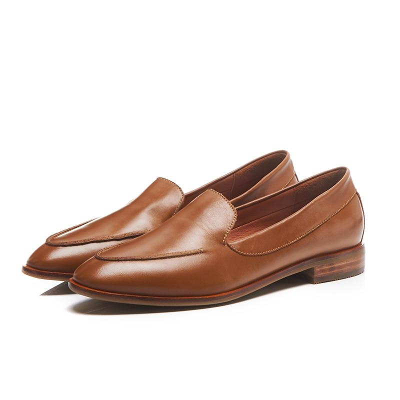 En Enfiler Marron Chaussures 2018 Étudiant Véritable Bourgogne Brogue Automne brown Femme Printemps Dames Cuir Furtado Arden Black burgundy c1X8qPIq