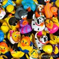 6pcs Lot  Baby Bath Toys Pool Float Rubber Duck For Children Water Toys Swimming Toys  Badspeelgoed