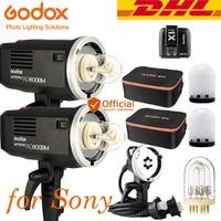 DHL Godox ad600bm HSS 1200 Вт Открытый Вспышка старший фотография костюм Беспроводной триггера для Sony A7R II a7s II A9 a7 II DSLR Камера