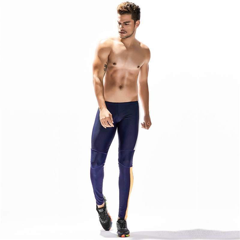 New Men 39 s Sports Yoga Fitness Pants Sexy Long Johns Leggings Tight Pants Training Size M L XL 70611 in Trainning amp Exercise Pants from Sports amp Entertainment