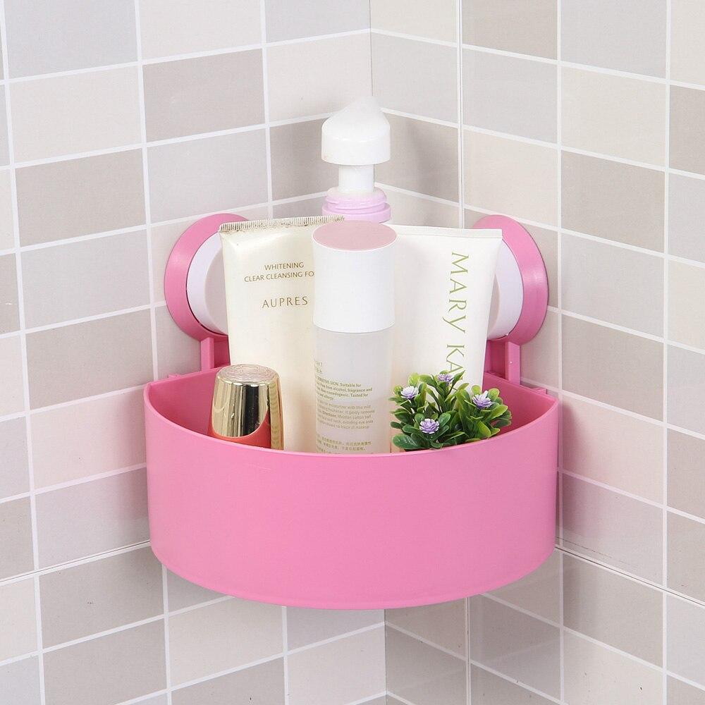 Anho Sucker Lagerung Rack Für Shampoo Dusche Wc Wand Halter Ablauf Bad Saugnapf Korb Regal Ecke Küche Bad Werkzeug Bad Hardware