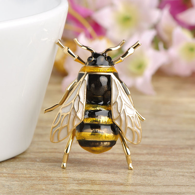 Bee Brooch Clothes Accessories