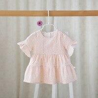 2016 Summer Baby Dress Girl Cotton Kids Clothes Newborn Girls Infant Dress Toddler Clothing Baby Girls