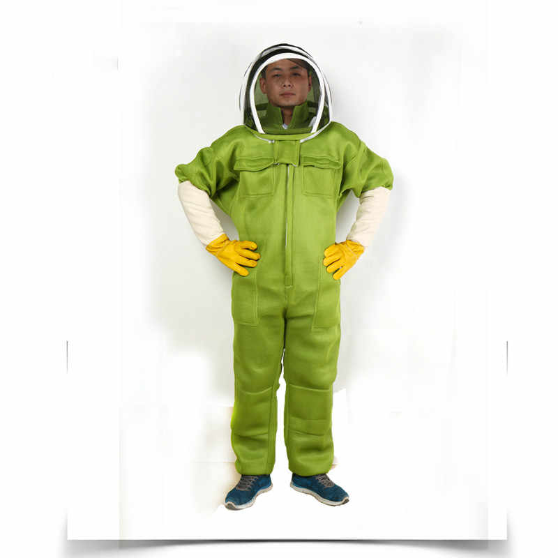 Bee wear protective clothing with whole body protective clothing, thickening and breathable anti bee wear protective clothing