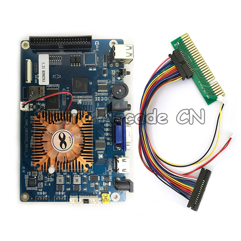 Arcade Game 3D Pandora 2323 in 1 PCB Multi Game Board console Motherboard with jamma wiring