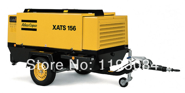 Mobile Air Compressor >> Atlas Copco Xats156 Portable Air Compressor Portable Air Compressor