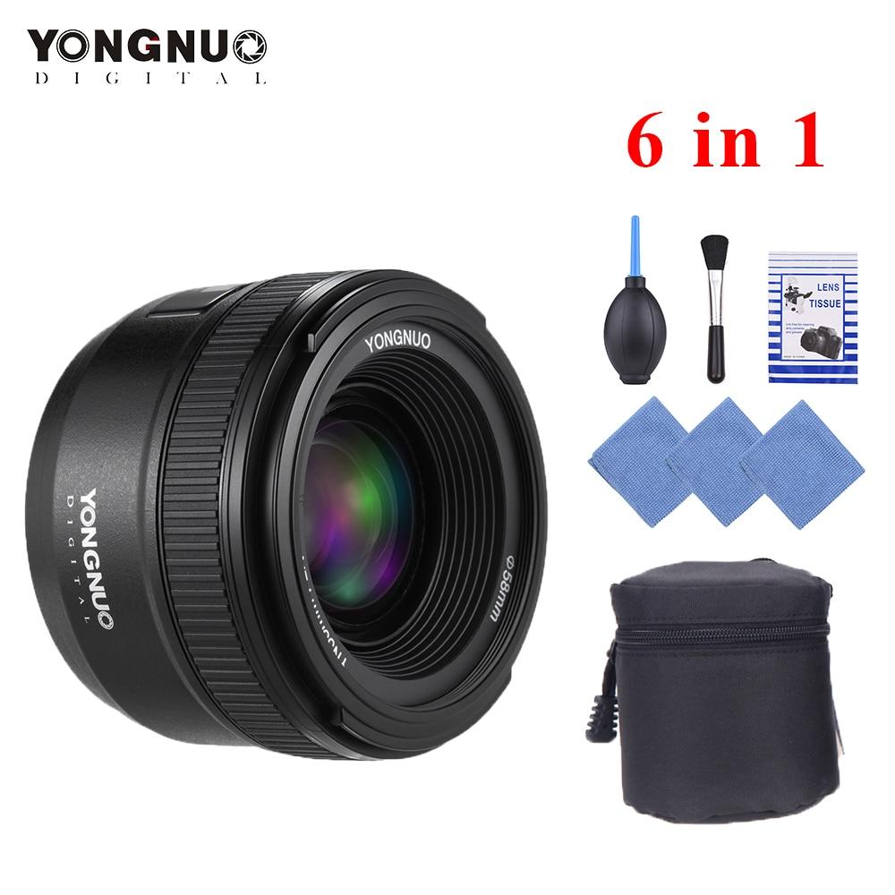 YONGNUO objectif YN35mm F2N f2.0 objectif grand Angle AF/MF objectif de mise au point fixe pour Nikon F monture D7200 D7100 D7000 D5300 D5100 D3300 etc.-in Objectifs pour appareil photo from Electronique    1