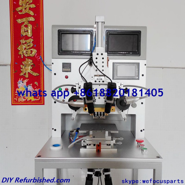 Top version Phone Repair Machine Phone LCD Flex Cable Ribbon FPC Repair ACF Machine with LED Display for Iphone Samsung etc