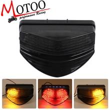Моту-мотоцикл светодиодные задние поворотов хвост стоп Лампы для мотоциклов для Honda CBR600 F4i 01-07
