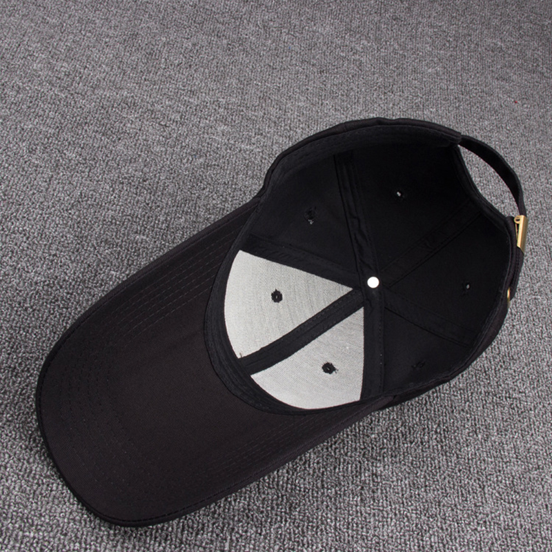 0f1620fb949e1 Popular Long Bill All Black Mens Caps Cotton Solid Peak Curved Snapback Baseball  Cap Hats Best Online Store To Buy Sports Caps-in Baseball Caps from Apparel  ...