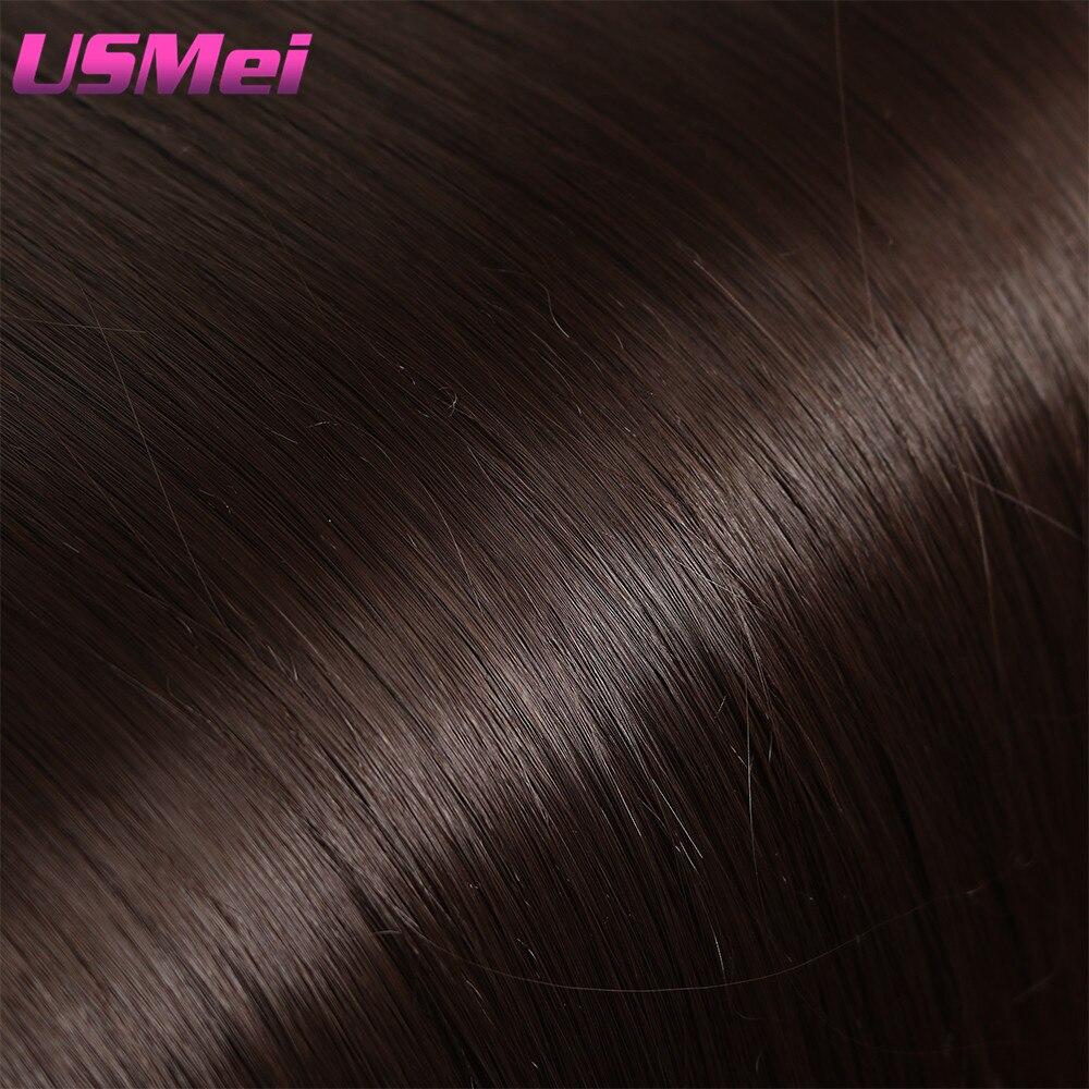 USMEI 5 κλιπ / τεμάχιο Φυσικό ευθεία - Συνθετικά μαλλιά - Φωτογραφία 5