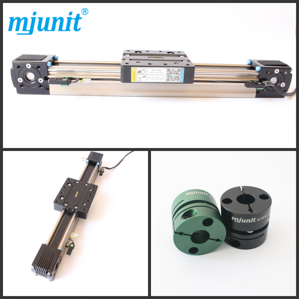mjunit Belt Driven Linear guide rail/LINEAR DRIVE UNIT/Drive Unit Linear Actuator ball linear rail guide roller shaft guideway toothed belt driven