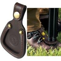 Tourbon Classic Design Durable Barrel Rest Shooting Leather Toe Protector Pad