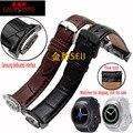 R720 laopijiang samsung galaxy gear s2 esporte assistir cinta de couro relógio de pulseira com relógios inteligentes