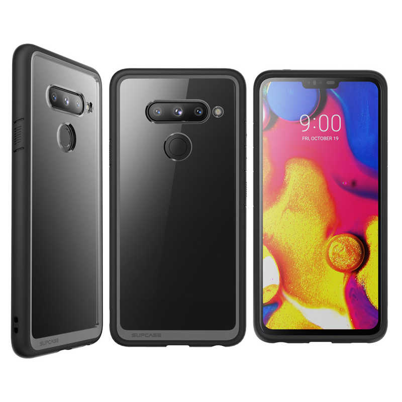 SUPCASE For LG V40 ThinQ Case UB Style Premium Hybrid Protective TPU Bumper + Clear Back Cover Case For LG V40 Caso