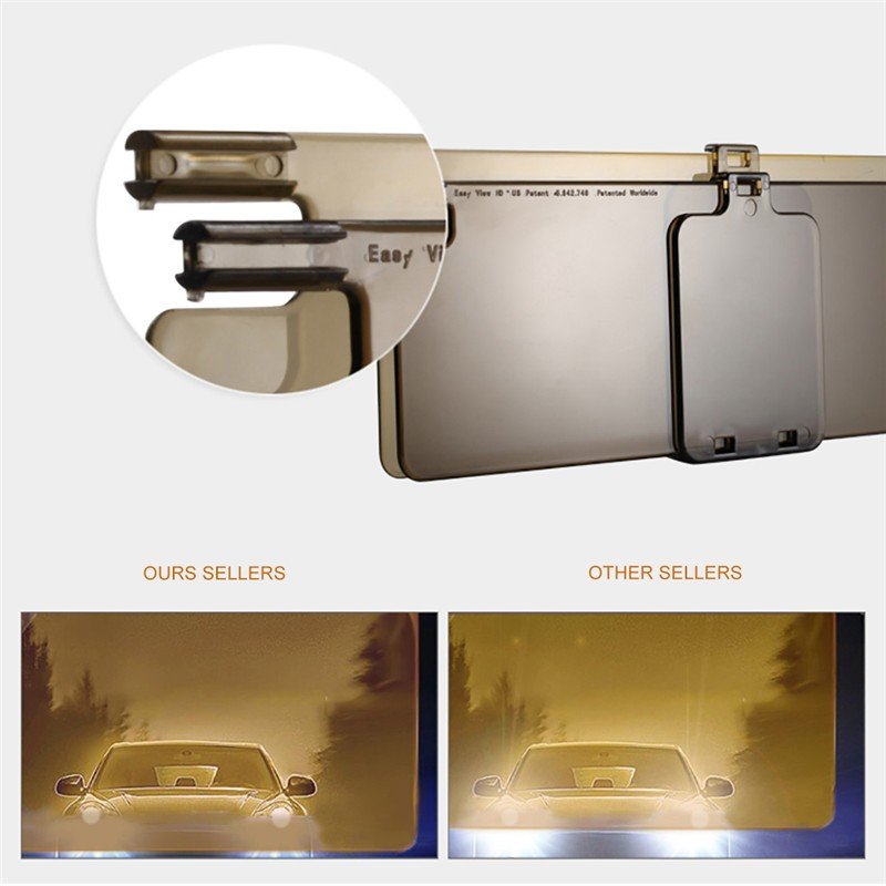 New Car Sun Visor HD Car Anti Glare Dazzling Goggle Day Night Vision  Driving Mirror UV Fold Flip Down HD Clear View Visor-in Window Foils from  Automobiles ... 10a07f88361