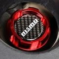 Красная алюминиевая масляная крышка двигателя с логотипом из углеродного волокна для nissan ALTIMA MAXIMA SILVIA S13 S14 240SX SENTRA SUNNY INFINITI 350Z 300ZX