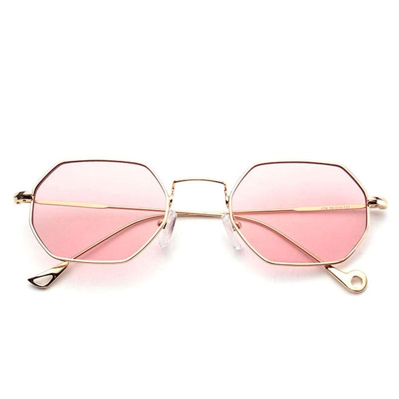 """""""VictoryLip"""" šešiakampiai akiniai nuo saulės, veidrodinis - Drabužių priedai"""