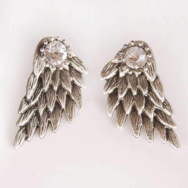 Модные Сережки Ангельские крылья в ассортименте 2