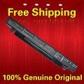 Livre o navio 100% nova original genuine a41-x550a bateria para asus a41-x550 x550d x550c x550 x450c x550v a550 laptop 15 v 2950 mah