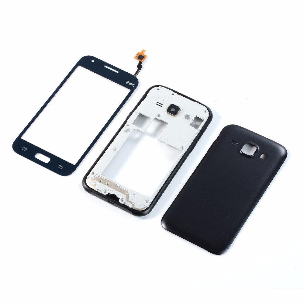 Original Gehuse Mittleren Rahmen Batterie Zurck Abdeckung Samsung J100 Galaxy J1 4 Gb Touchscreen Glas Digitizer Panel Fr J100f J100h