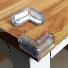 Купить с кэшбэком Baby Safty Infant Collision Angle Glass Table Crash Bar Kids Child Protection Angle Baby Edge Corner Guards 10 Pcs/lot TRQ0260