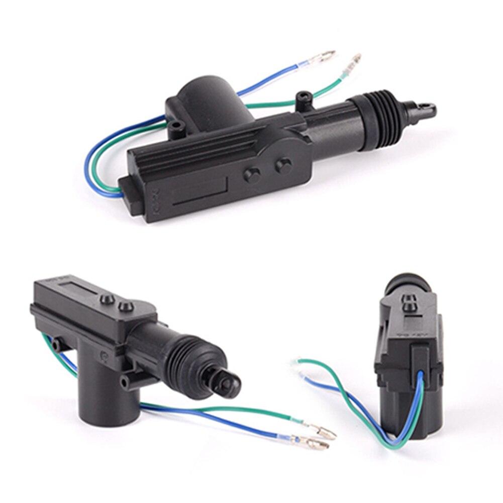 2 Wire DC 12V Door Motor Slave Actuator Solenoid Central Locking Motor Car Alarm System Central Locking Tools