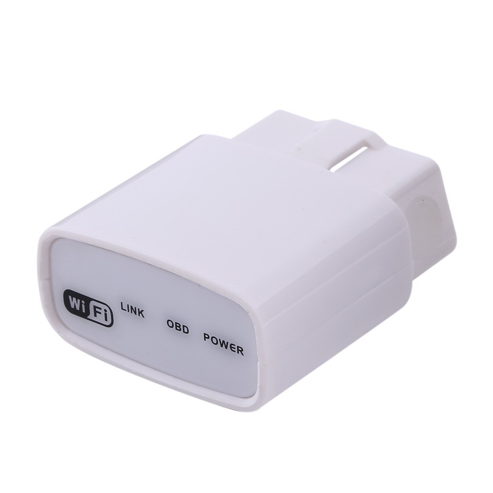 ELM327 OBDII OBD2 WIFI V1.5 Sans Fil Consommation De Carburant De Gaz Mètre Outil de Diagnostic de Pannes Fonctionne avec tous les véhicules OBD-II conformes