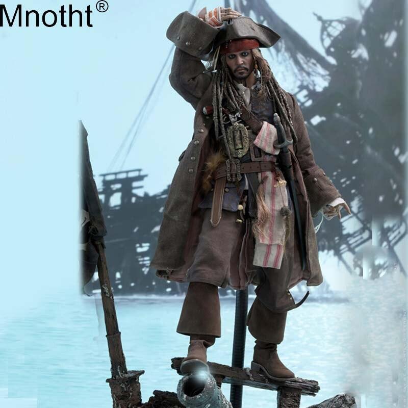 Mnotht 1/6 DX15 Пираты Карибского моря Dead Для мужчин не рассказывают сказки/Salazar месть фигурку капитан Джек Воробей игрушка набор m3n