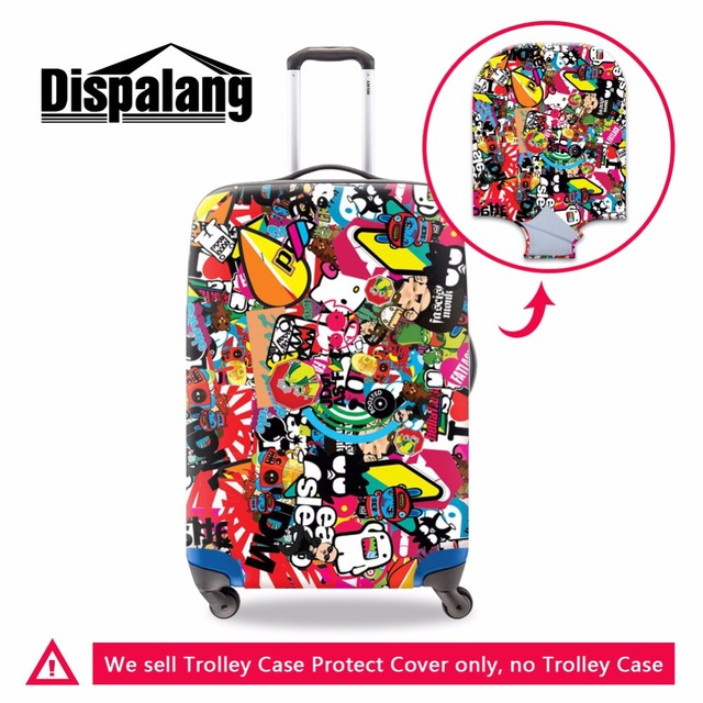 Patchwork Waterproof luggage cover for women Fashion Suitcase Protective Covers for 18-30 Inch Suitcase Best Dustproof  Covers