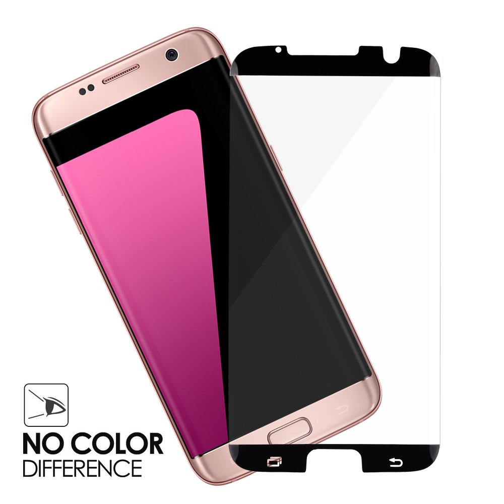 sale retailer a61b2 8ab05 US $9.99 |OTAO Case Friendly 3D Curved Full Cover Tempered Glass Screen  Protector for Samsung Galaxy S7 Edge With Retail Package-in Phone Screen ...