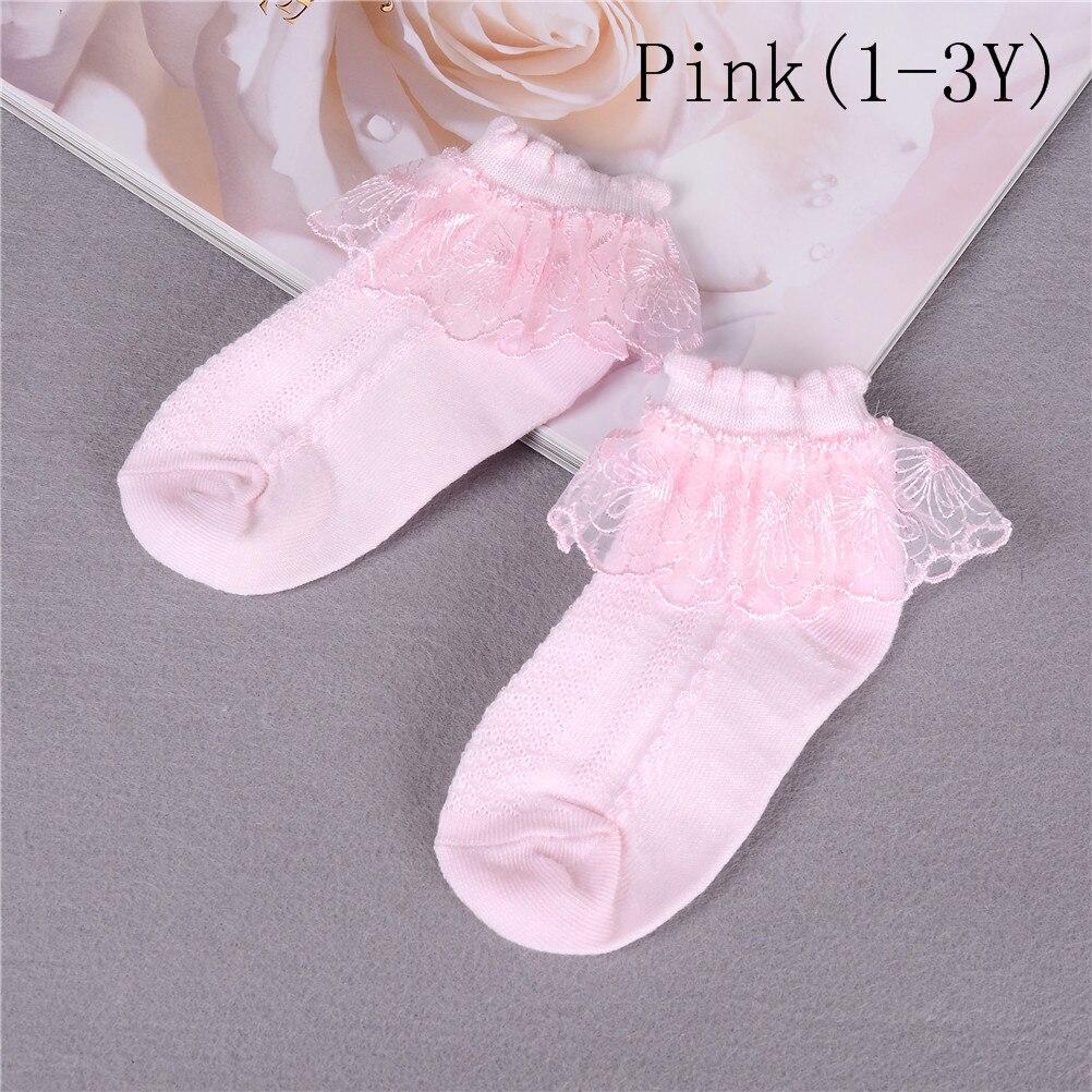 Fashion Kids princess Socks Toddlers Girls Lace Breathable Cotton Socks New