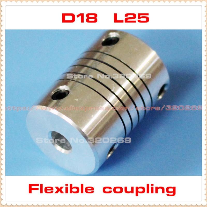4mm x 8mm Flexible Jaw Coupler CNC Shaft Spider Stepper Motor Coupling 4X8