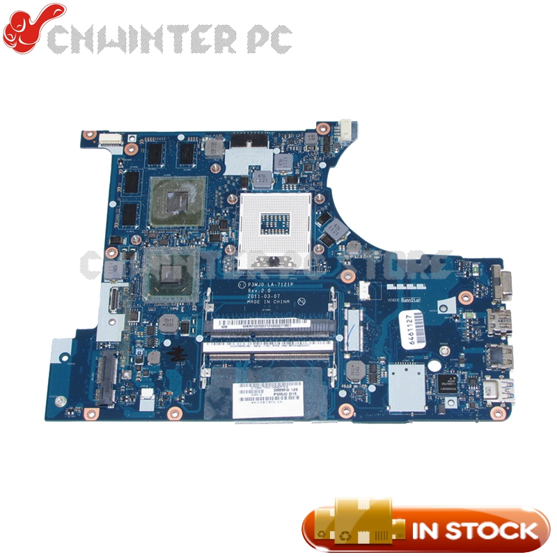 NOKOTION For Acer aspire 3830 3830T 3830TG Laptop Motherboard P3MJ0 LA-7121P MBRFQ02002 HM65 DDR3 GT540M 1GB mbrr706001 mb rr706 001 laptop motherboard fit for acer aspire 5749 series da0zrlmb6d0 c0 hm65