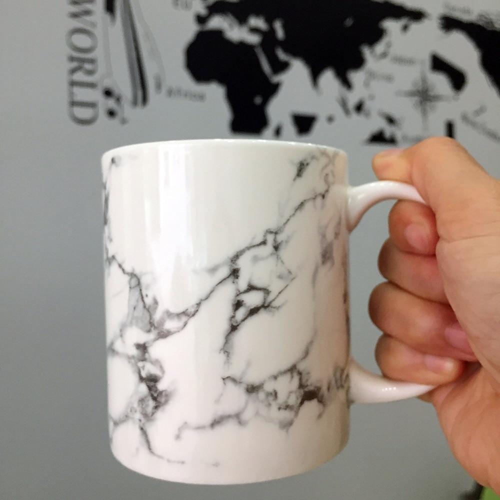 350ml Ceramic Marble Design Coffee Tea Mugs Porcelain Office Drinking Cups Tableware Custom Logo In From Home Garden On Aliexpress Alibaba