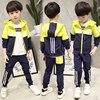 Hot Sale Children S Clothing Suit 2018 New Students Sports Spring Autumn Sets Boys Fashion Uniforms