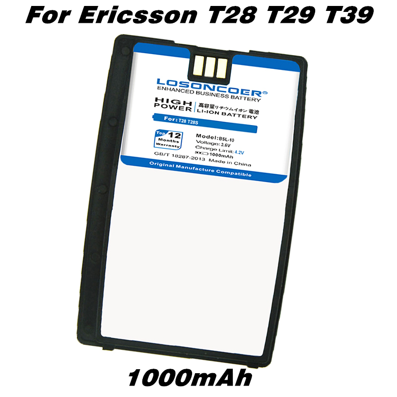 Battery For Mobile-Phone-Batteries Sony Ericsson T28S T320 R320 1000mah BSL10 BUS-11