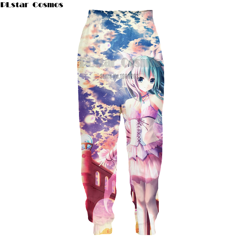 Snelle Levering Plstar Cosmos Anime Yu Gi Oh Monster Kaarten Harajuku Stijl Mens Womens Casual Broek 3d Print Broek Plus Size S-5xl Online Winkel
