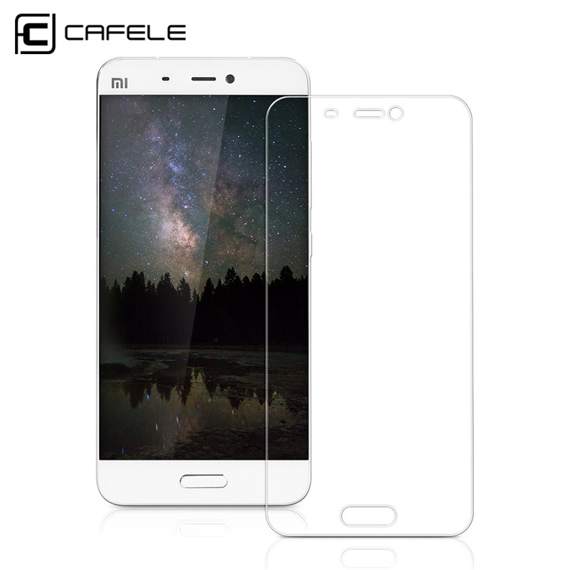 Cafele Xiaomi Mi 5 Mi5S Glass Screen Protector 5.15 inch HD Clear Tempered Glass Screen Protector Film for Mi5 MI 5S MI5S Plus