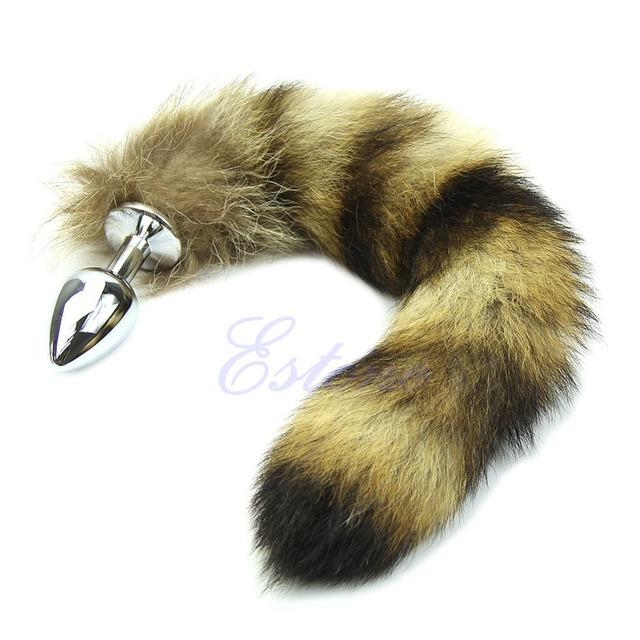 Raccoon Tail Butt Anal Plug Sexy Romance Sex Toys