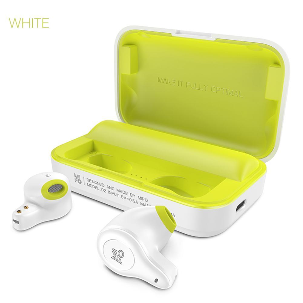 Mifo O2 Bluetooth écouteur sans fil Bluetooth casque double in-ear TWS Mini Sport en cours d'exécution IPX5 étanche écouteurs boîte de charge