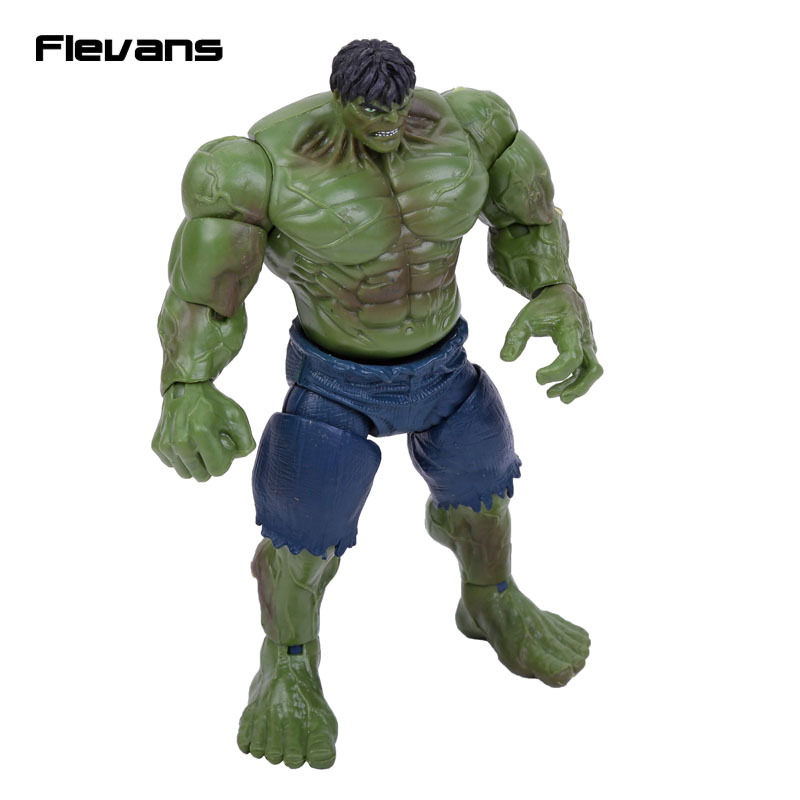 Original Good Quality Hulk PVC Action Figure Collectible Model Toy 6 15cm cartoon cute pikachu bobble head car decoration doll pvc action figure collectible model toy 7 styles 15cm