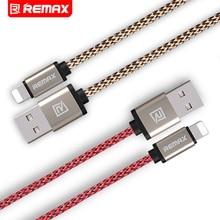 Remax Нейлон Мобильный Телефон Кабель Для iPhone Дата Кабель Передачи Данных Зарядки Зарядное Устройство Кабель USB Быстрая Зарядка Кабель 0.2 M 1 M 2 M