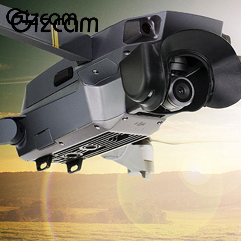Gizcam New Rocker Guard Protector+Lens Hood+Extended Landing Gear For DJI Mavic Pro Drone Professional Cam Drones Prop Protector