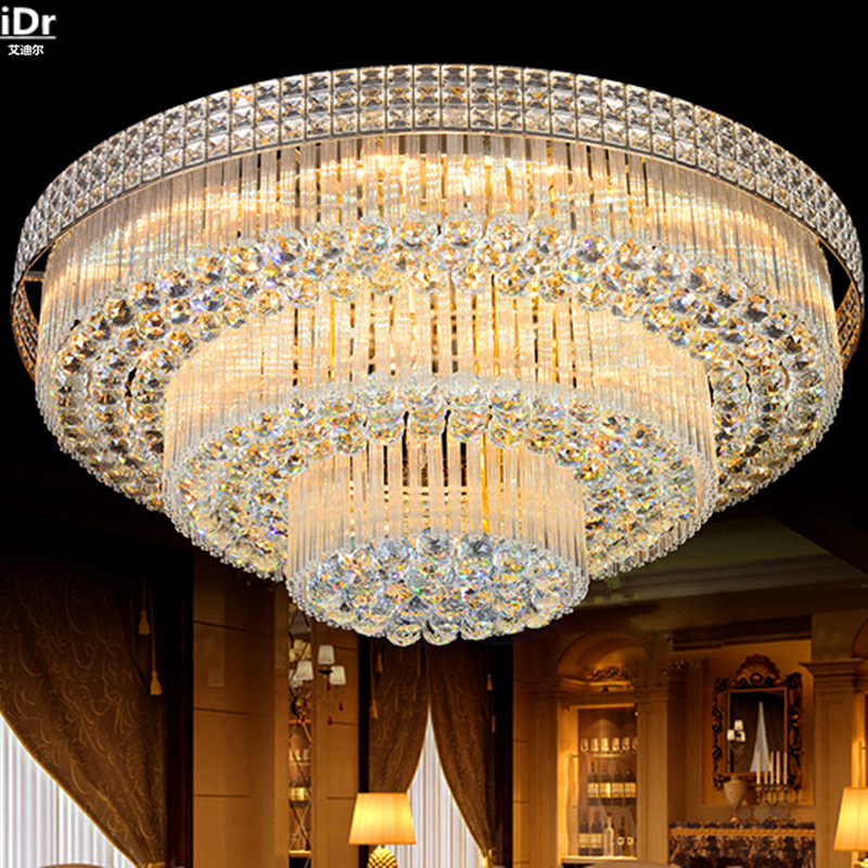 Circular living room lamp crystal lamp S King Cake bedroom living room lights LED lights Ceiling Lights Rmy-071