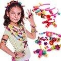 Pop contas diy handmade colar e pulseira jóia do grânulo da pérola educacional blocos de construção de brinquedo para crianças caçoa o presente brinquedos hama