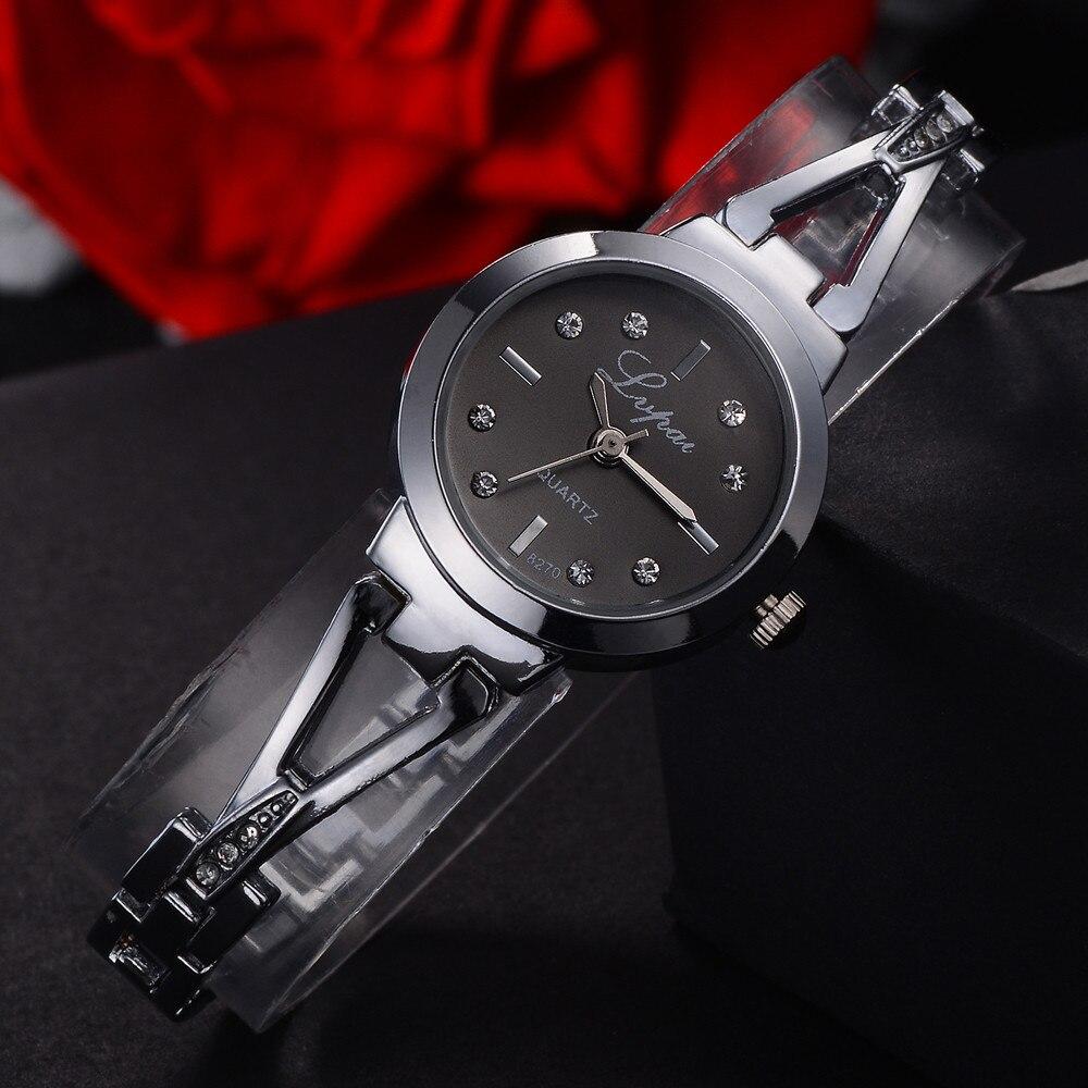 Women Women Watch Crystal Diamond Bracelet Quartz Wrist Watch Luxury Fashion Relogio Feminino Casual Reloj Mujer 3L45