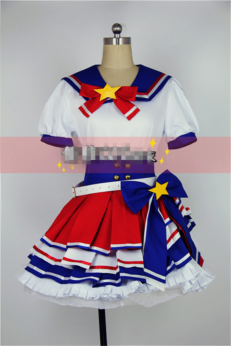 2017 New Anime Pripara Dorothy West Cosplay Costume Coat+Shirt+Sock Lolita Suit D цены