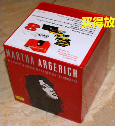 2017 Sale Real Martha Argerich Complete Recordings On Deutsche Grammophon 48cd Box Set Sealed bon jovi 11cd 1dvd box set complete collection special edition music cd boxset brand new freeshipping