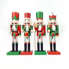 New 38CM Nutcracker Puppet Christmas Wooden Doll Child Gift
